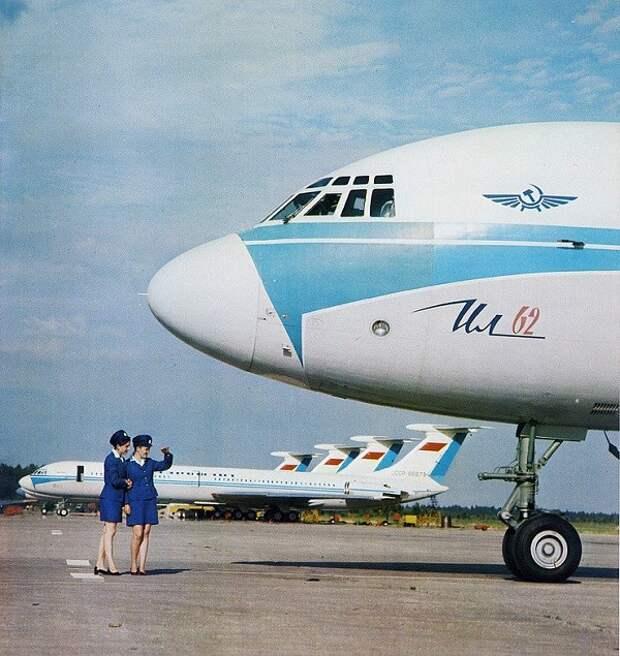 55 лет первому полету Ил-62
