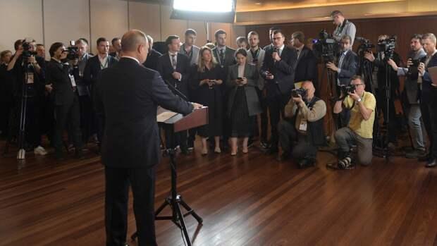 Песков сообщил о намерении Путина пообщаться с прессой после переговоров с Байденом