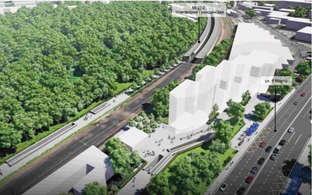 Началось обсуждение проекта реконструкции улицы 8-го Марта