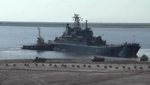 Северный флот отработает высадку десанта рядом с Аляской