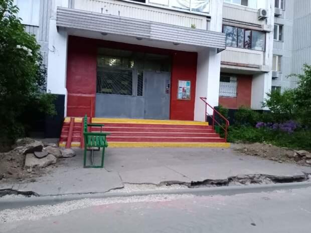 Работы по замене асфальта на улице Мнёвники продлятся до 20 августа