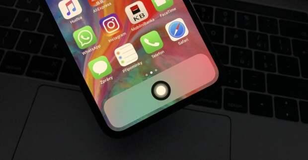Apple запатентовала iPhone без физических кнопок