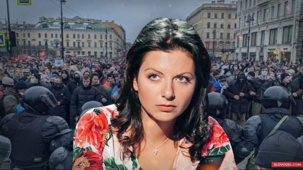 Маргарита Симоньян объяснила, почему в США нет демократии
