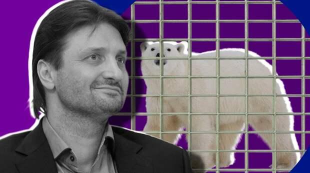 Запашный осудил посетителей зоопарков после гибели белого медведя Умки