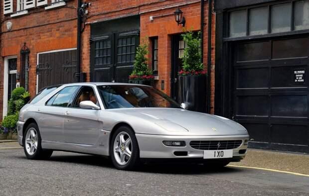 5-дверный универсал Ferrari авто, автодизайн, дизайн, интересно