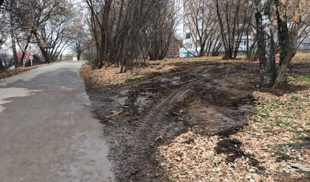 Ижевчане жалуются на качество ремонта дороги и тротуара на улице Нижней