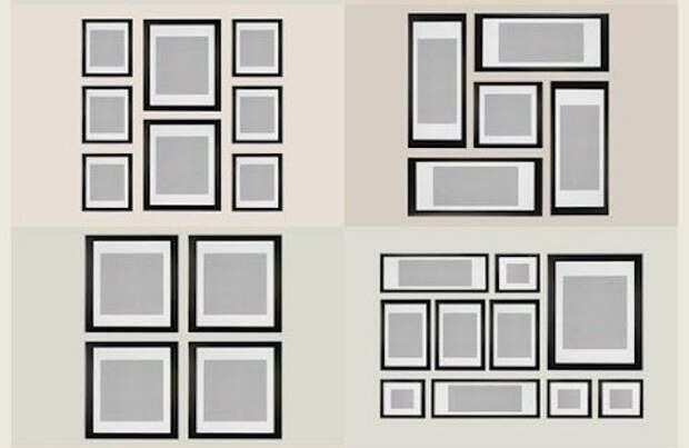 Как правильно разместить фотографии