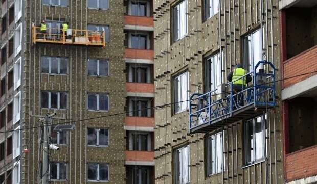 На западе столицы завершается строительство двух жилых корпусов