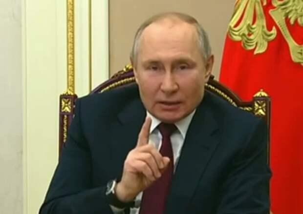 """Путин ответил Байдену: """"Кто как обзывается, тот так и называется"""""""