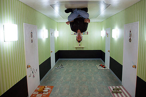 Музей оптический иллюзий в Корее