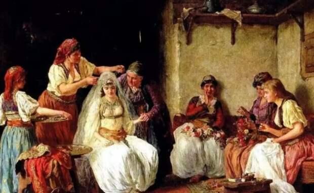 Свадьба для невесты была весьма сомнительным мероприятием.