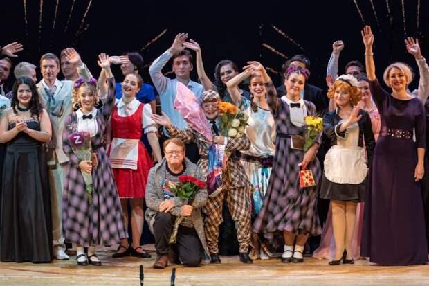 Труппа Театра Чихачёва после концерта/Алексей Андропов