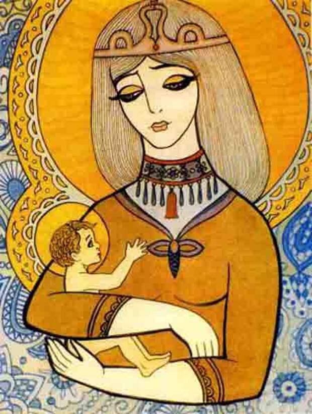 Дева Мария. Саша Путря. 10 лет