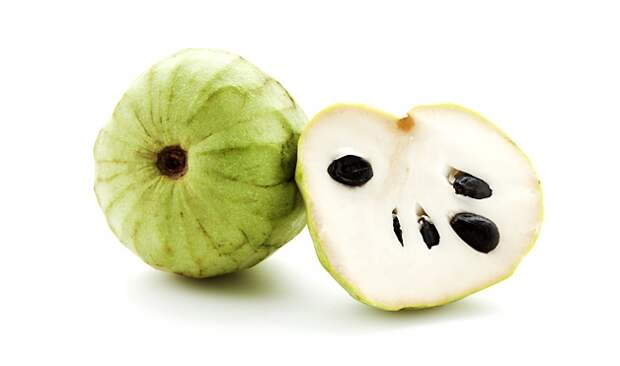 9. Черимойя фрукты, экзотические фрукты