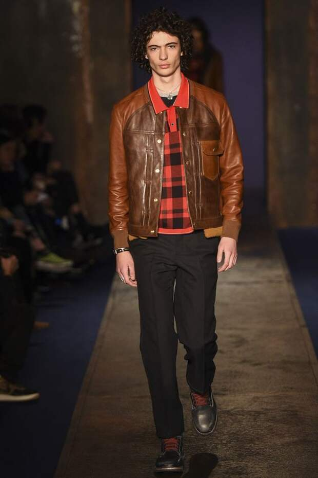 Coach 1941 рыжая кожаная куртка