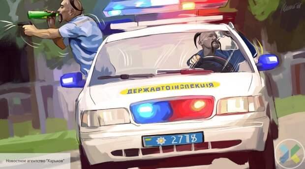 «Ну вы и твари»: разъяренные украинцы набросились на полицейских