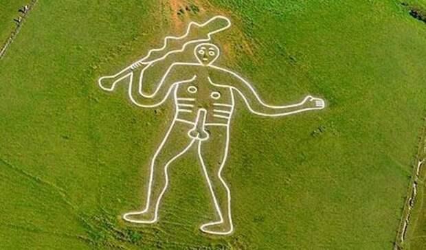 Археологи выдвинули новую гипотезу происхождения Грубого мужика из Серн-Эббас