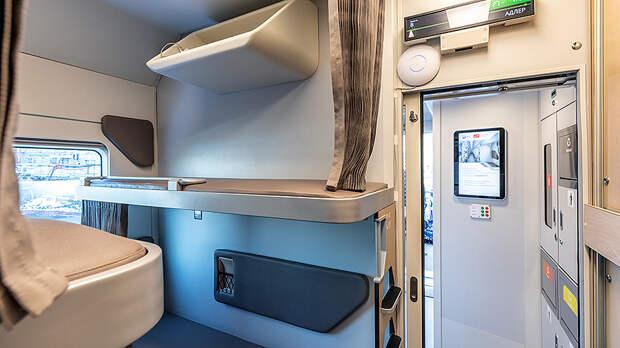 В новых вагонах РЖД будет удобно спать даже высоким пассажирам