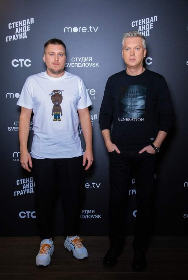Александр Незлобин и Сергей Светлаков запустят экспериментальное стендап-шоу