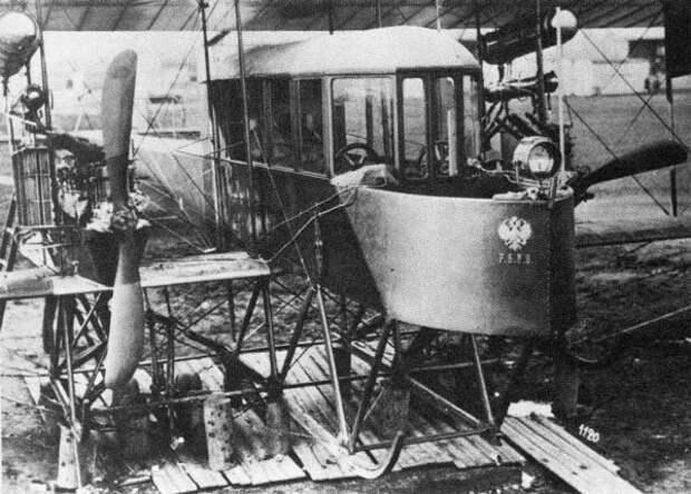100 лет назад совершил первый полет первый в мире многомоторный самолет «Русский витязь» инженера Игоря Сикорского