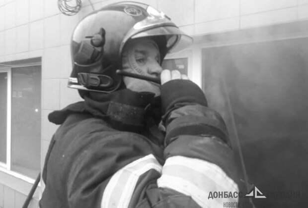 В ЛНР на пожаре погиб пенсионер