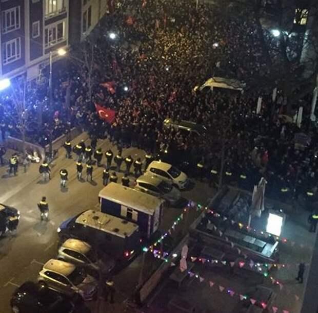 Эрдоган: Нидерланды заплатят за свои действия
