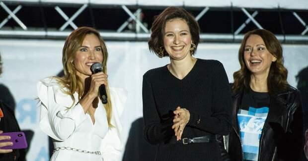 Безрукова, Александрова и другие на премьере «Красотки в ударе»