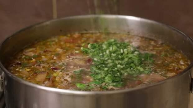 Настоящий суп харчо - абсолютный фаворит грузинской кухни!