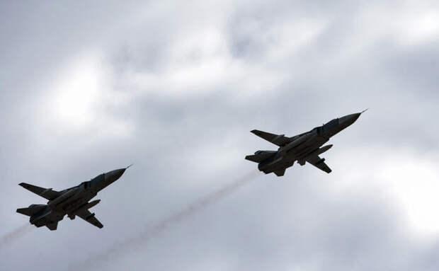 Британскую авианосную группу вЧёрном море «познакомят» свежливыми Су-24