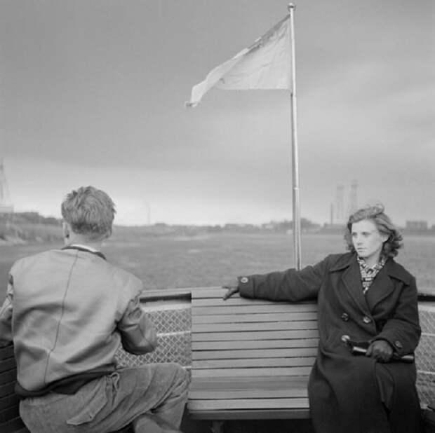 Водная экскурсия по рекам и каналам Ленинграда, 1950 год.