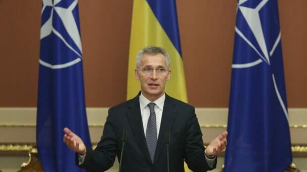НАТО планирует обсудить условия принятия Украины в военный блок