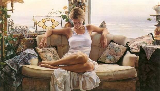 Красота женского тела в 24 нежнейших картинах современных художников