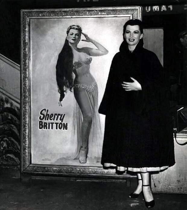 """Без силикона и подтяжек: идеальная красота """"королевы бурлеска"""" Шерри Бриттон"""