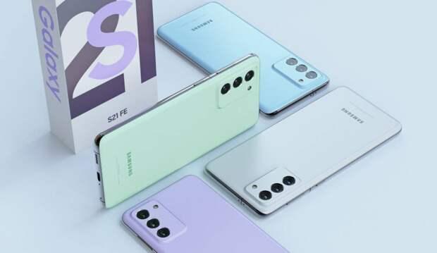 Сделано первое фото защитного стекла для Samsung Galaxy S21 Fan Edition