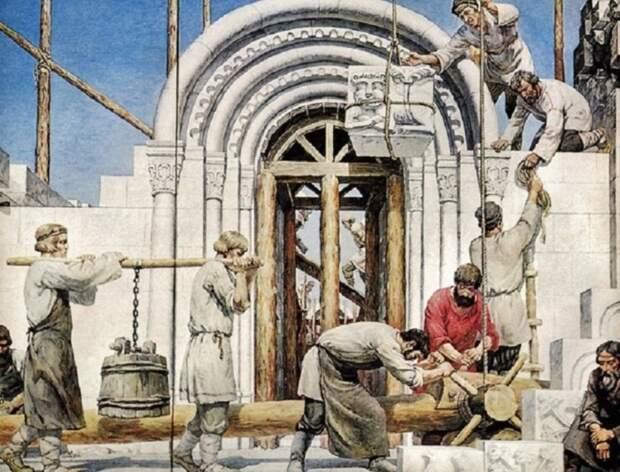 Как в старину возводили постройки на века, не располагая цементом