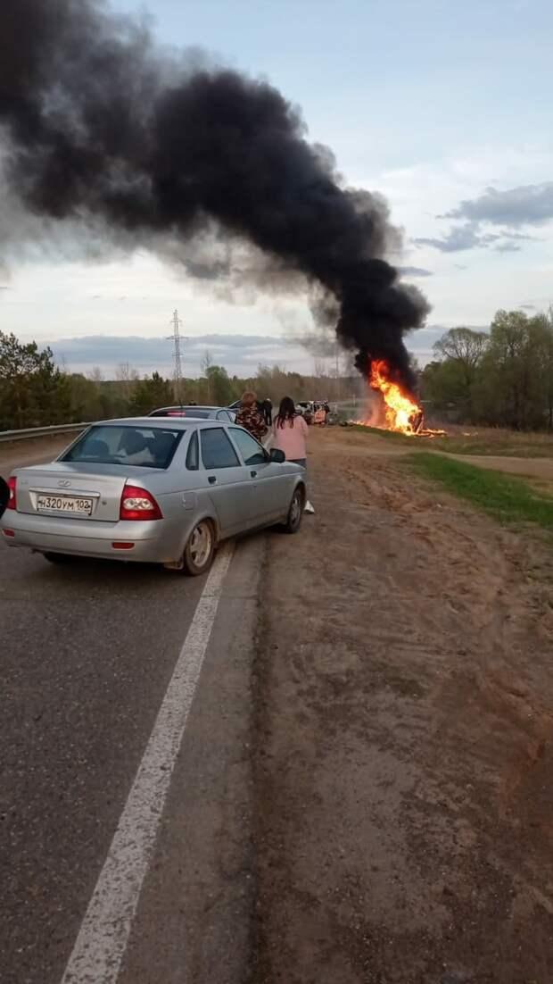 Житель Удмуртии устроил ДТП в Татарстане: 4 человека погибли