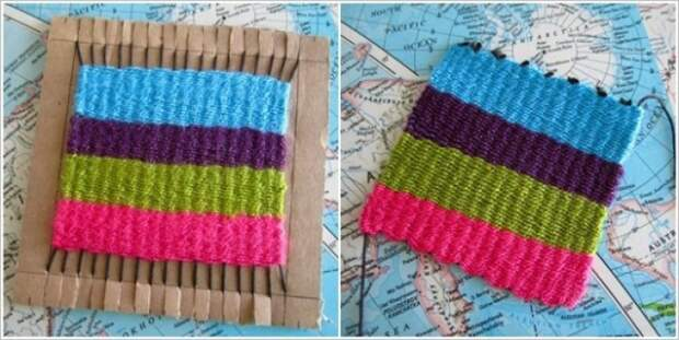How-to-Weave-Rug-with-Cardboard-and-Fork4-e1431127716845