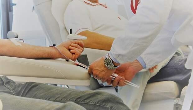 Доноры Подольска сдали 46 литров крови за прошедшую неделю
