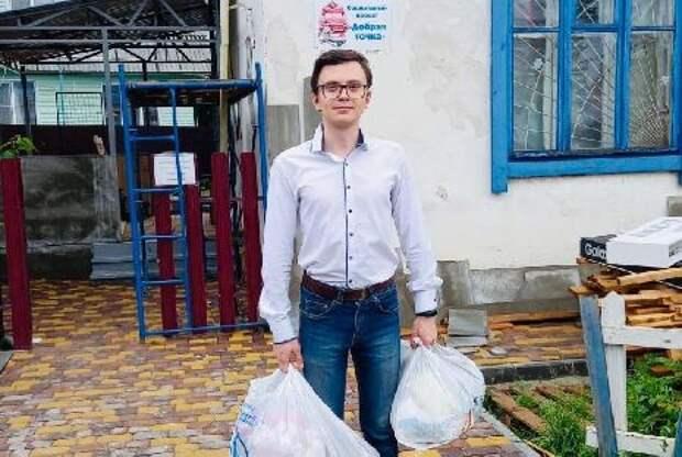 """Волонтеры Тамбовского филиала РАНХиГС отправились в """"Добрую точку"""""""