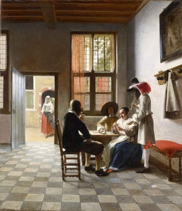 Картина Питера де Хооха.