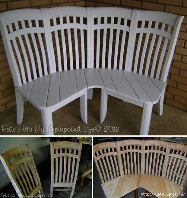Что сделать из старых стульев