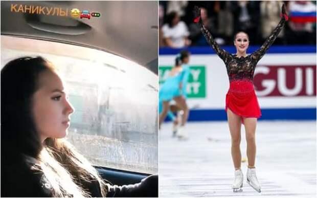 Похвасталась! Фигуристку Алину Загитову оштрафуют за вождение без прав