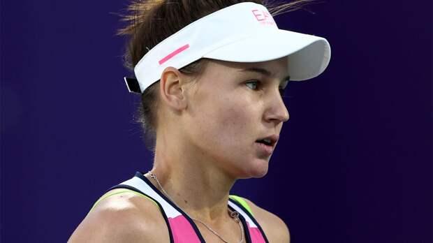 Кудерметова проиграла 1-й ракетке мира Барти в 1/8 финала турнира в Риме