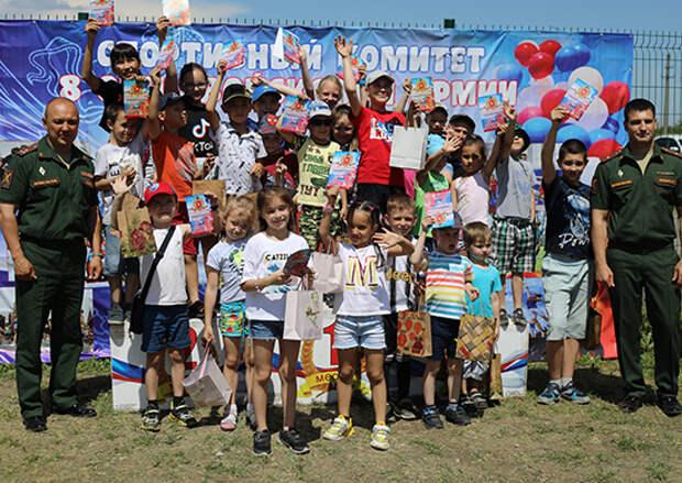 В День России военнослужащие ЮВО провели спортивный праздник для жителей и гостей Новочеркасска