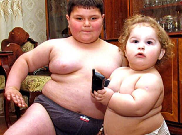 Откуда берутся толстые дети девушки, дети, еда, толстые