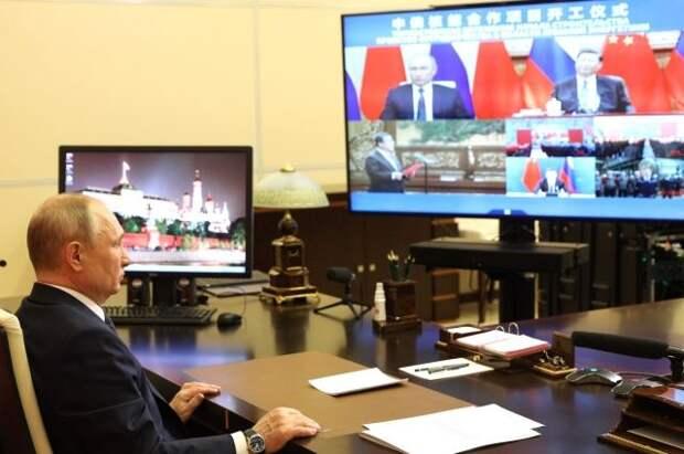 Путин и Си Цзиньпин дали старт строительству новых блоков АЭС в Китае