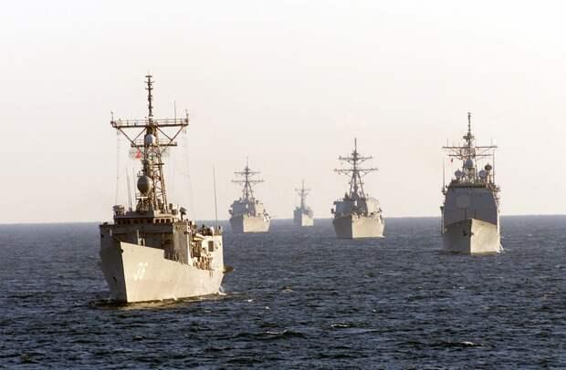 США не исключают военного столкновения с Россией в Черном море