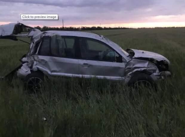 ДТП в Крыму: «кто-то рассыпал гальку на трассе, разбиты две машины»