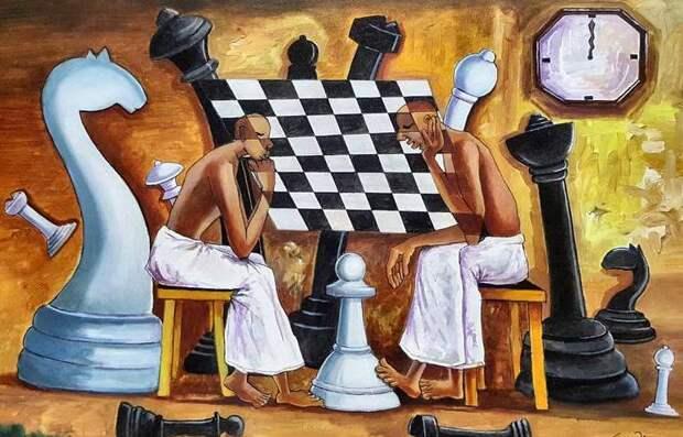 Шахматы в зеркале мирового либерализма