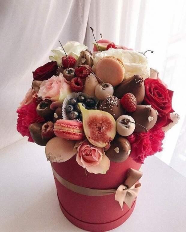 Сладкие букеты: идеи для подарков